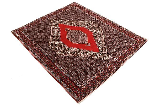 Itämainen matto Senneh 127x155 Persialainen - Punainen - Sisustustuotteet - Matot - Itämaiset matot