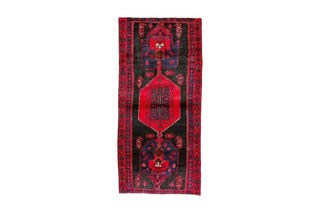 Käsinsolmittu Persialainen Matto 116x247 cm - Tummansininen / Punainen - Sisustustuotteet - Matot - Itämaiset matot