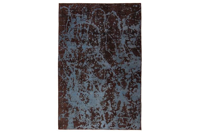 Käsinsolmittu Persialainen matto 123x190 cm Vintage - Sininen/Ruskea - Sisustustuotteet - Matot - Itämaiset matot