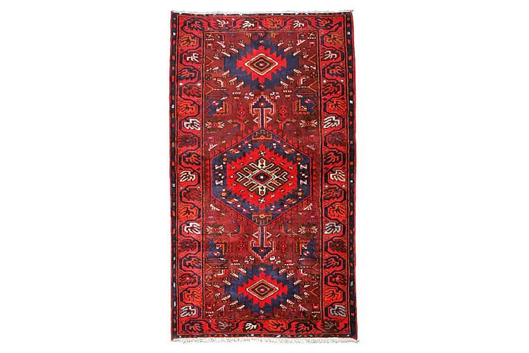 Käsinsolmittu persialainen matto 136x238 cm - Punainen / Musta - Sisustustuotteet - Matot - Itämaiset matot