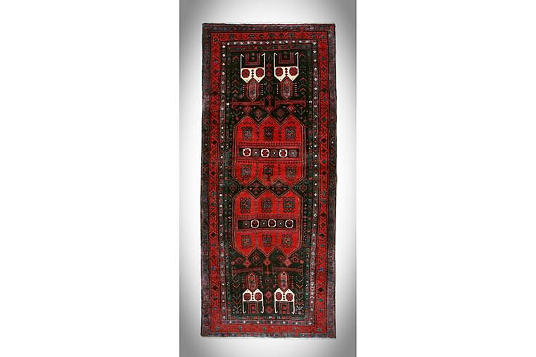 Käsinsolmittu persialainen Matto 144x342 cm - Tummansininen / Punainen - Sisustustuotteet - Matot - Itämaiset matot