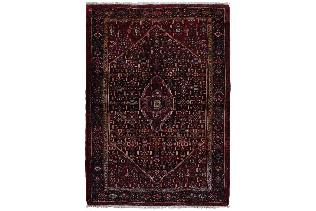 Käsinsolmittu persialainen Matto 150x211 cm - Punainen/Tummansininen - Sisustustuotteet - Matot - Itämaiset matot