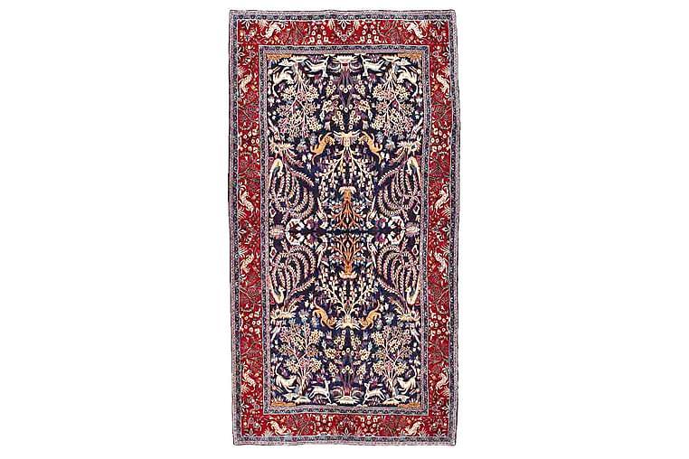 Käsinsolmittu persialainen matto 160x303 cm - Tummansininen / Punainen - Sisustustuotteet - Matot - Itämaiset matot