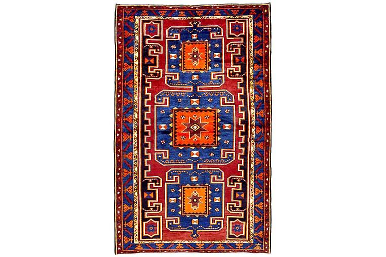 Käsinsolmittu Persialainen matto Varni 105x151 cm Kelim - Ruskea/Sininen - Sisustustuotteet - Matot - Itämaiset matot