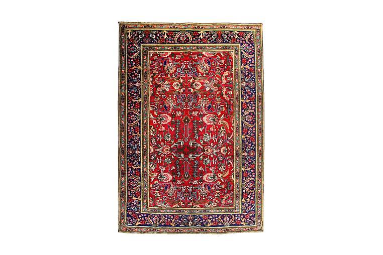 Käsinsolmittu Persialainen Patina matto 194x288 cm - Punainen/Tummansininen - Sisustustuotteet - Matot - Itämaiset matot