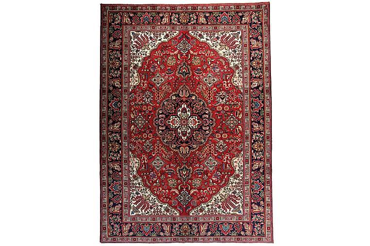 Käsinsolmittu Persialainen Patina Matto 205x289 cm - Punainen/Tummansininen - Sisustustuotteet - Matot - Itämaiset matot