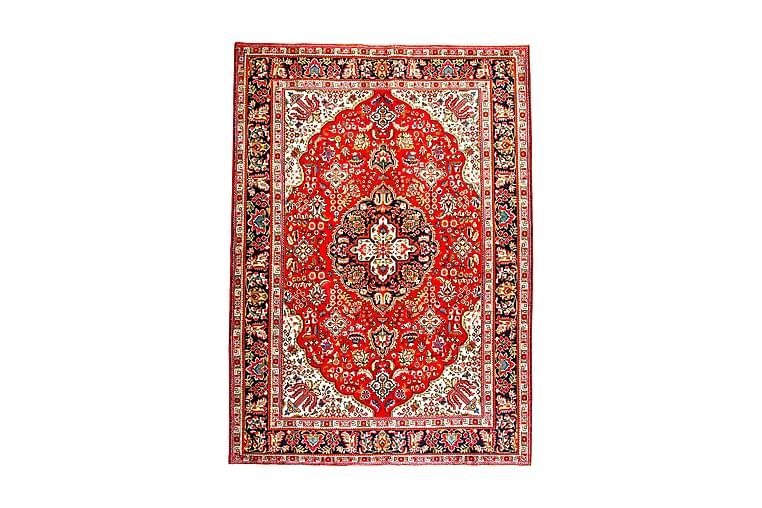 Käsinsolmittu Persialainen Patina Matto 205x290 cm - Punainen/Tummansininen - Sisustustuotteet - Matot - Itämaiset matot