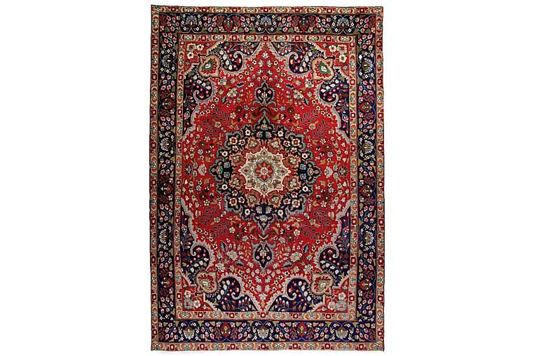 Käsinsolmittu Persialainen Patina matto 205x303 cm - Punainen/Tummansininen - Sisustustuotteet - Matot - Itämaiset matot