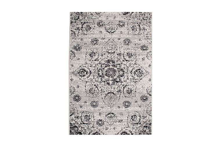 Matto Lotto-4 133x190 cm Valkoinen/Harmaa - Sisustustuotteet - Matot - Itämaiset matot