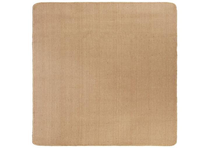 Juuttimatto lateksitaustalla 80x160 cm luonnollinen - Beige - Sisustustuotteet - Matot - Sisalmatot