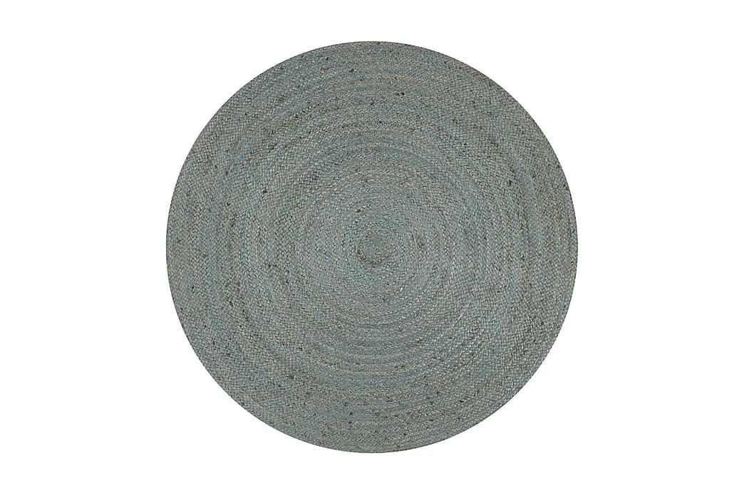 Käsintehty pyöreä juuttimatto 150 cm oliivinvihreä - Vihreä - Sisustustuotteet - Matot - Sisalmatot
