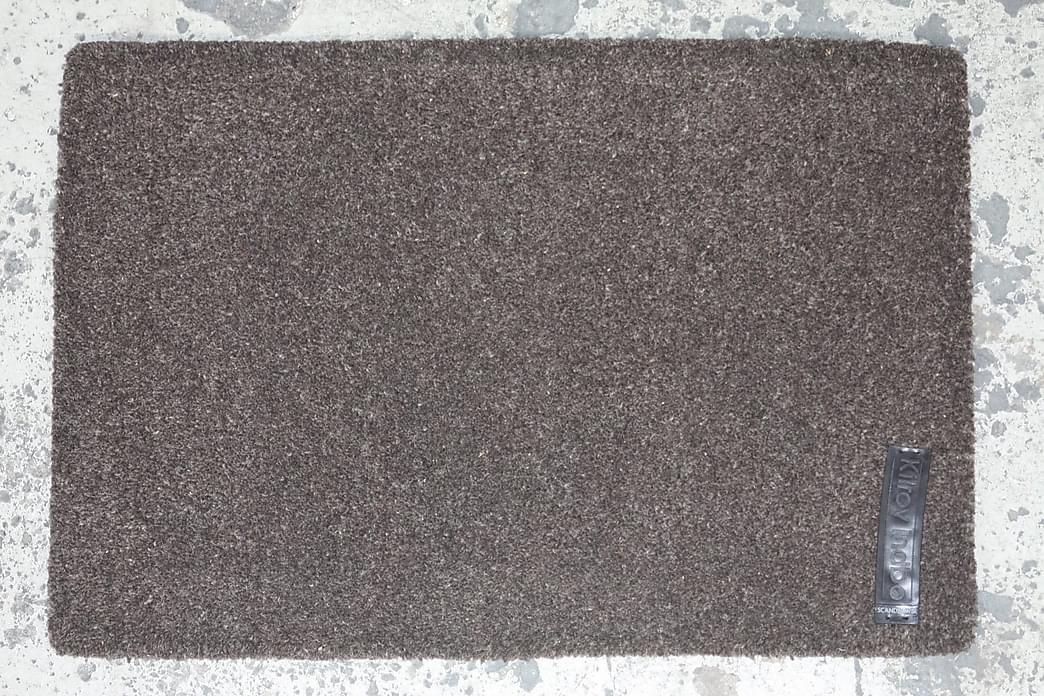 Käsinpunottu matto Olivia Pyöreä 150 - Hiili - Sisustustuotteet - Matot - Käsintehdyt matot