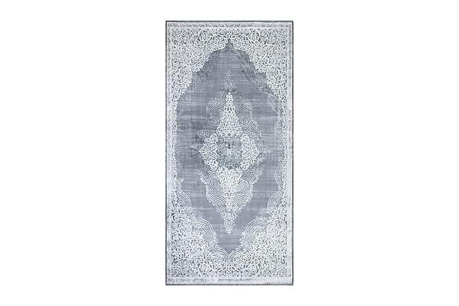 Käytävämatto Kameha Medallion 80x300 - Hopea - Sisustustuotteet - Matot - Käytävämatot