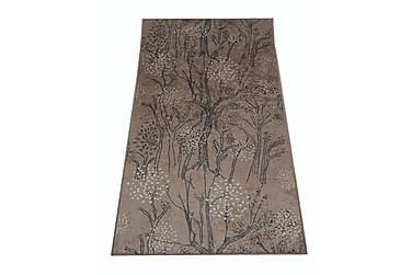 Käytävämatto Metsänkulta 80x150 cm beige