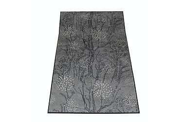 Käytävämatto Metsänkulta 80x350 cm harmaa