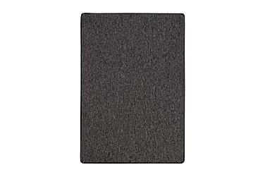 Käytävämatto Plain kumitettu 133x190cm Musta