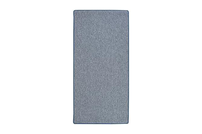 Kumipinnoitettu käytävämatto Plain 67x220 - Sininen - Sisustustuotteet - Matot - Käytävämatot