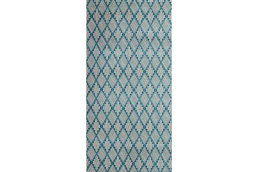 Matto Diamond Kerma/Turkoosi 80x150 - Pierre Cardin - Sisustustuotteet - Matot - Käytävämatot