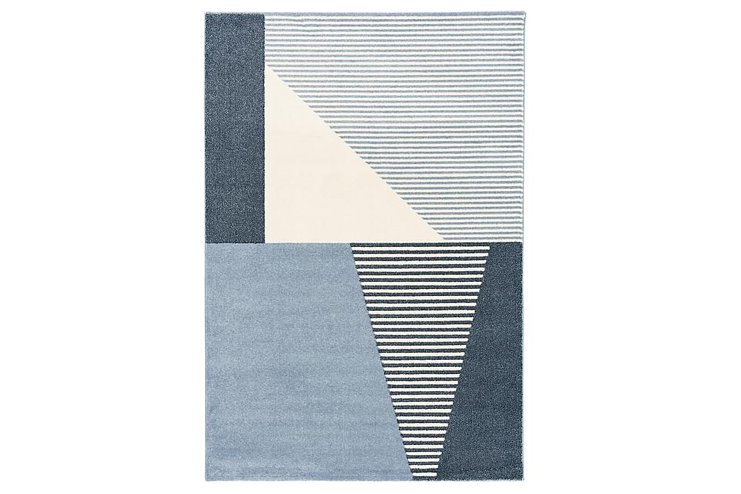 Matto Dover 160x230 cm Sininen/Valkoinen - 4living - Sisustustuotteet - Matot - Käytävämatot