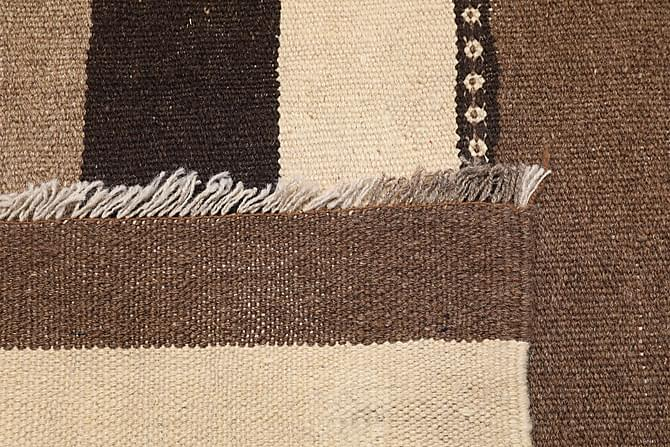 Itämainen Kelimmatto 130x204 - Beige | Musta | Valkoinen - Sisustustuotteet - Matot - Kelim-matot