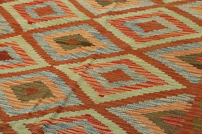 Itämainen Kelimmatto Afghan 145x242 - Monivärinen - Sisustustuotteet - Matot - Kelim-matot