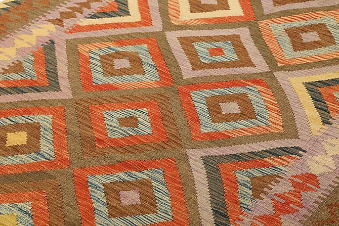 Itämainen Kelimmatto Afghan 155x256 - Monivärinen - Sisustustuotteet - Matot - Kelim-matot