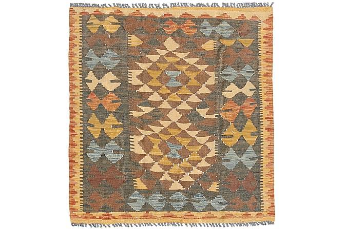 Itämainen Kelimmatto Afghan 90x98 - Monivärinen - Sisustustuotteet - Matot - Kelim-matot