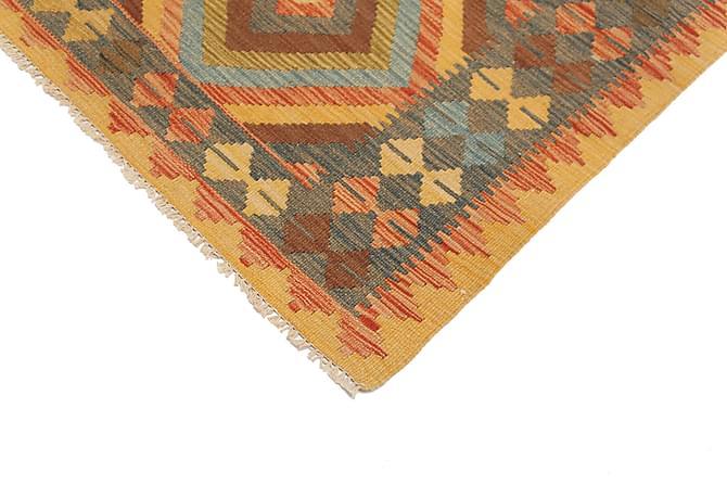 Itämainen Kelimmatto Afghan 92x103 - Monivärinen - Sisustustuotteet - Matot - Kelim-matot