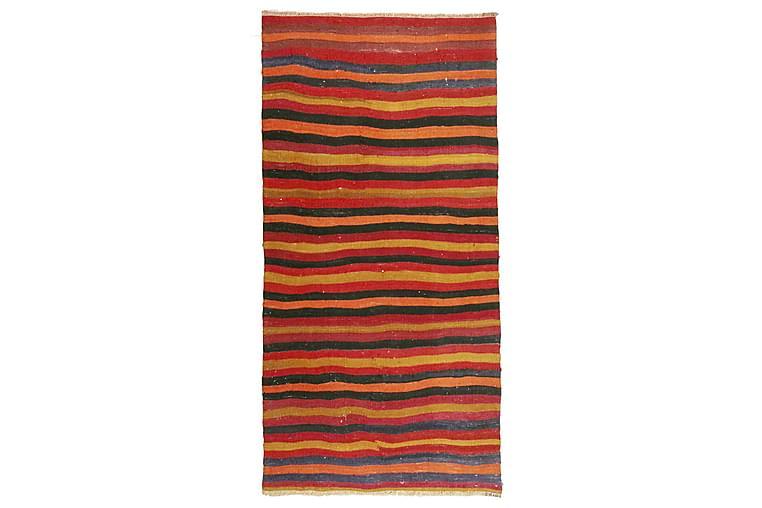 Käsinsolmittu Persialainen Matto 98x198 cm Kelim - Punainen / Oranssi - Sisustustuotteet - Matot - Kelim-matot