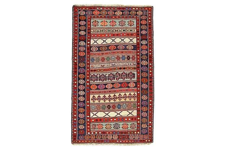 Käsinsolmittu Persialainen matto Varni 120x200 cm Kelim - Monivärinen - Sisustustuotteet - Matot - Kelim-matot