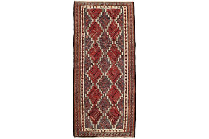 Kelimmatto Kelim Fars 150x325 - Ruskea | Punainen - Sisustustuotteet - Matot - Kelim-matot