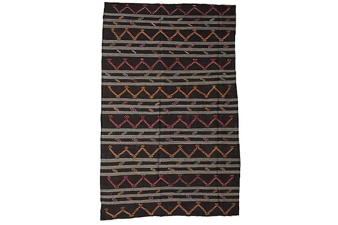 Stor Kelimmatto Antiikkimainen 237x370 - Monivärinen - Sisustustuotteet - Matot - Kelim-matot
