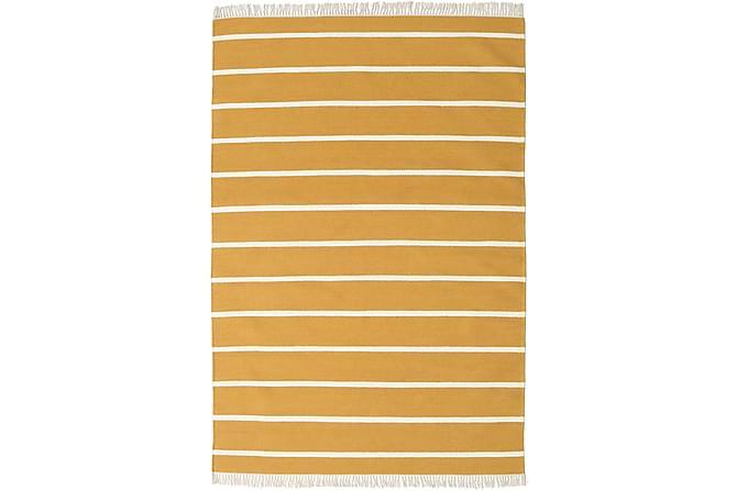 Suuri Kelimmatta Dorri 160x230 - Keltainen - Sisustustuotteet - Matot - Kelim-matot