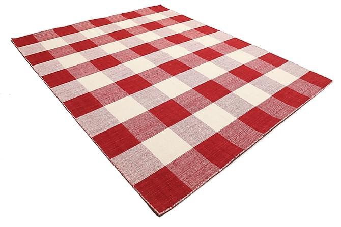 Suuri Kelimmatto Check 240x300 - Punainen - Sisustustuotteet - Matot - Kelim-matot