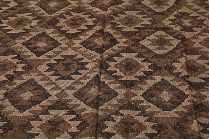 Suuri Kelimmatto Maimane 174x245 - Ruskea - Sisustustuotteet - Matot - Kelim-matot