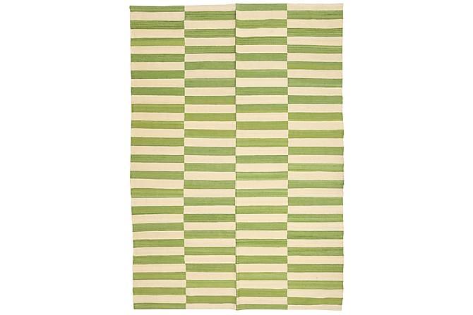 Suuri Kelimmatto Moderni 173x246 - Vihreä - Sisustustuotteet - Matot - Kelim-matot