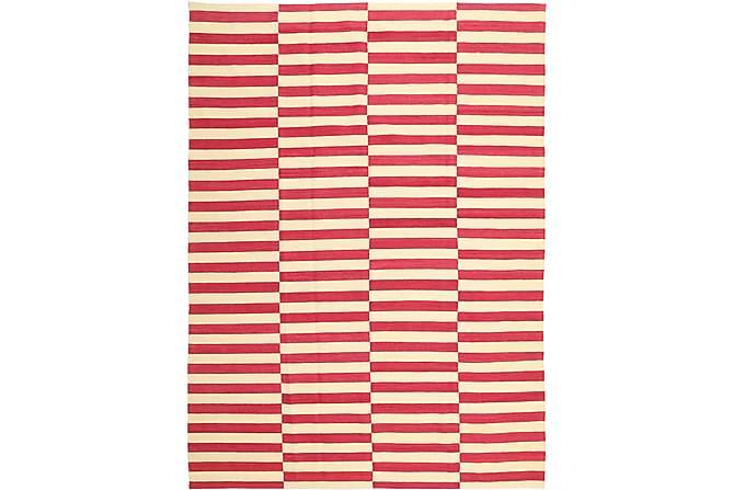 Suuri Kelimmatto Moderni 209x287 - Punainen - Sisustustuotteet - Matot - Kelim-matot
