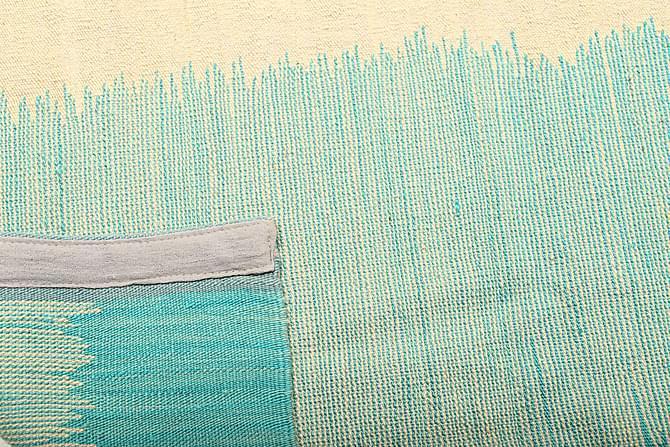 Suuri Kelimmatto Moderni 217x284 - Sininen - Sisustustuotteet - Matot - Kelim-matot