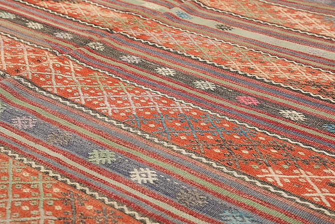 Suuri Kelimmatto Turkkilainen 172x305 - Ruskea - Sisustustuotteet - Matot - Kelim-matot