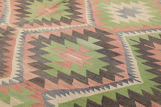 Suuri Kelimmatto Turkkilainen 183x312 - Monivärinen - Sisustustuotteet - Matot - Kelim-matot