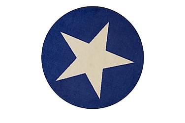 Matto Star Kumipinnoitettu 120 Pyöreä