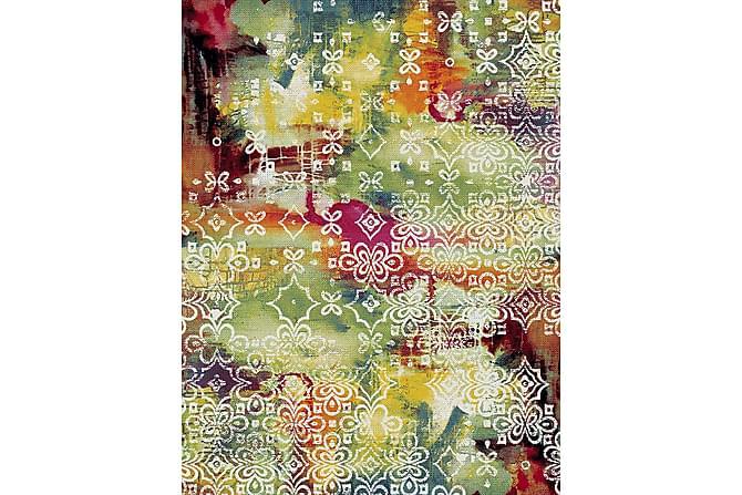Friezematto Cancun 133x190 - Keltainen/Vihreä/Punainen - Sisustustuotteet - Matot - Kuviolliset matot