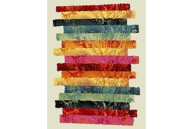 Friezematto Carmen 133x190 - Monivärinen - Sisustustuotteet - Matot - Kuviolliset matot