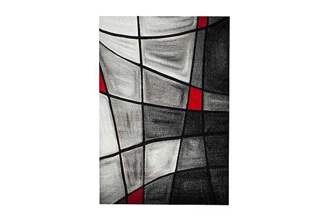 Friezematto London Brilliance 133x190 - Punainen - Sisustustuotteet - Matot - Kuviolliset matot