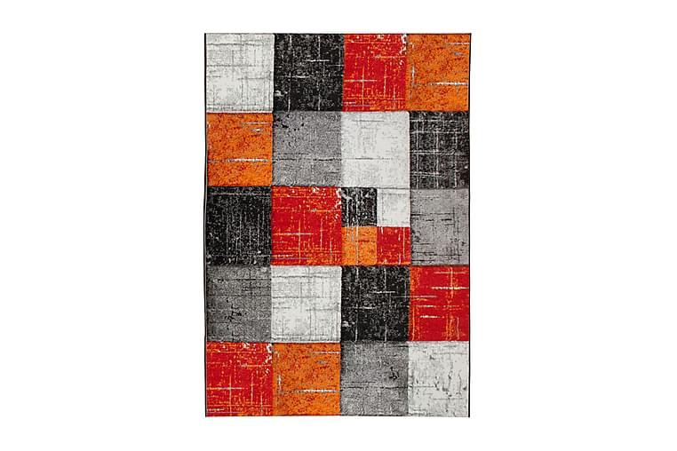 Friezematto London Square 200x290 - Punainen/Oranssi - Sisustustuotteet - Matot - Isot matot