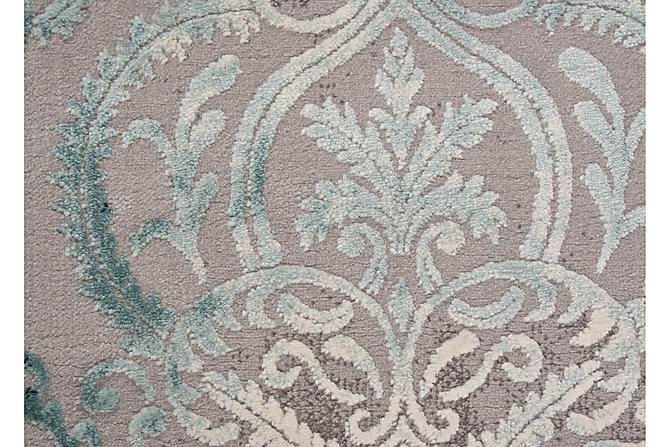Friezematto Thema Medallion 200x290 - Turkoosi - Sisustustuotteet - Matot - Kuviolliset matot