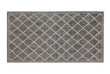 Hestia Ruutu -yleismatto 50x80 cm harmaa/valkoinen
