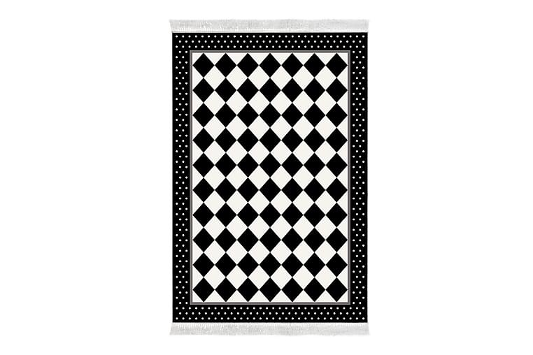 Matto Alanur Home 80x120 cm - Musta/Valkoinen - Sisustustuotteet - Matot - Pienet matot