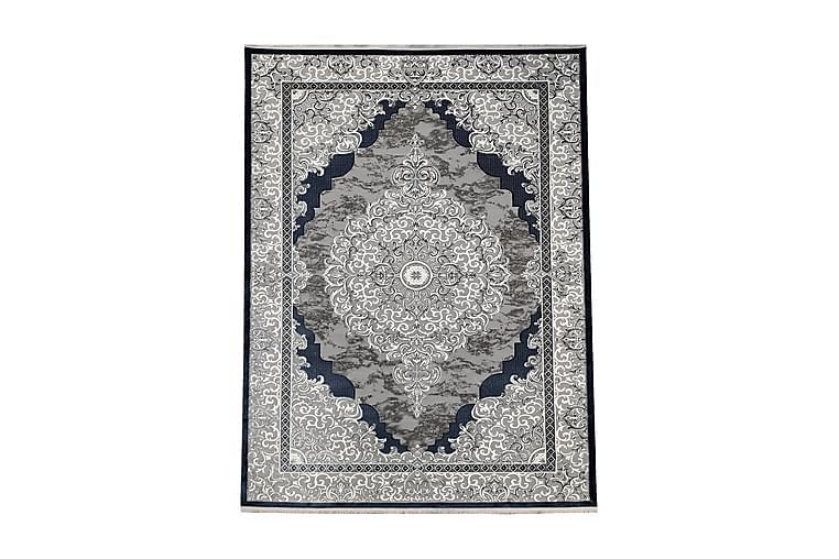 Matto Battal 120x170 cm - Harmaa/Sininen/Akryyli - Sisustustuotteet - Matot - Kuviolliset matot