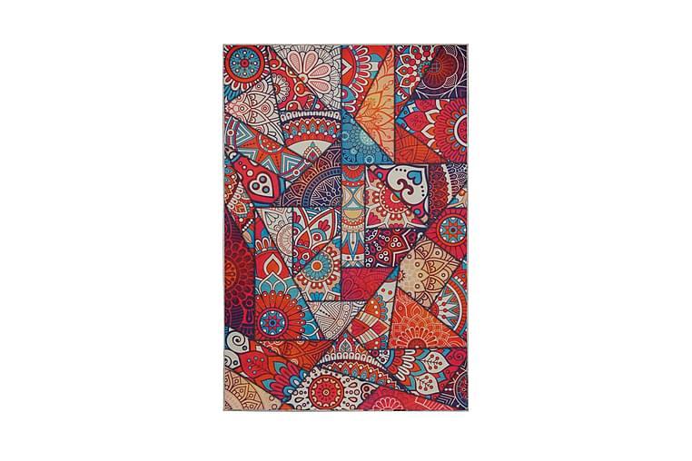 Matto Casen 100x200 cm - Monivärinen - Sisustustuotteet - Matot - Kuviolliset matot